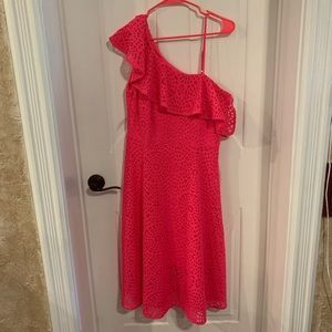 NWT Lilly Pulitzer Callisto Pink Cosmo Lace Dress
